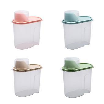 خزان تخزين الأغذية الشفاف البلاستيك