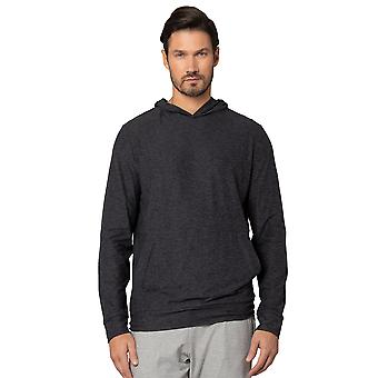 Men's Ultra-Soft Moss Jersey Long Sleeve Hoodie with Front Pockets