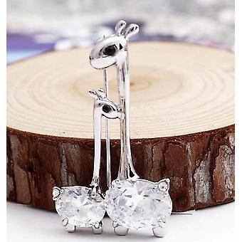 Alpaca And Cria Jewelry Pin - Alpaca Brooch
