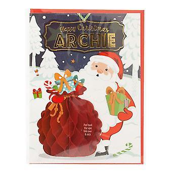 التاريخ وهيرالدري بطاقة عيد الميلاد الشخصية مسبقا لآرتشي