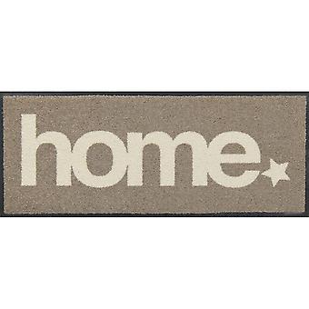 Salonloewe dörrmatta Home Star taupe 030x075 minimatta
