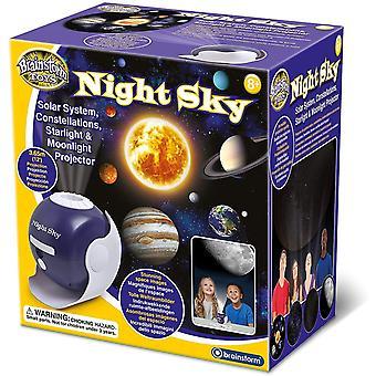Brainstorm Toys Night Sky – Solar System, Constellations, Starlight and Moonlight Projector