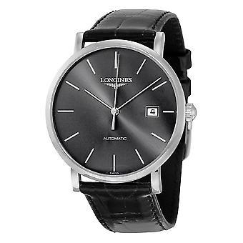 Longines Elegant Automatic Sunray Grey Dial Men's Watch L4.910.4.72.2