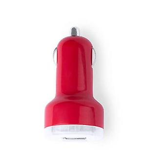 5-pack, USB charger 2100mAh red
