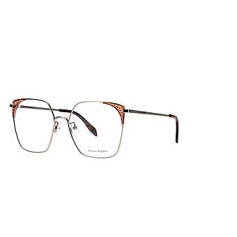 Alexander Mcqueen AM0312O 003 Gold Glasses