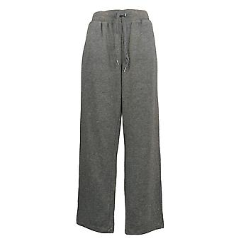 Koolaburra by UGG Women's Pants Vintage Wash French Terry Gray A386474