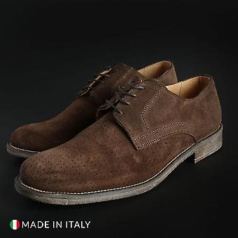 Duca di morrone - o6d_camoscio - chaussures pour hommes
