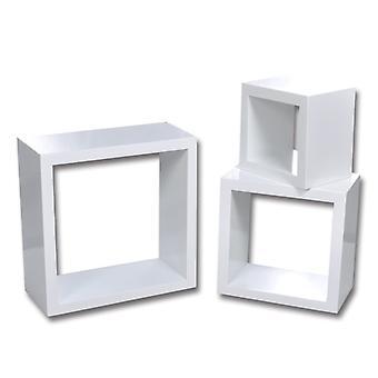 vidaXL Regalwürfel 6 Stk. Weiß