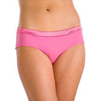 Camille Naisten Three Pack Vaaleanpunainen Tuxedo Midi Boxer Shortsit