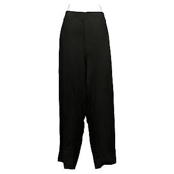 DG2 by Diane Gilman Women's Jeans P5X Petite Pull-On Stretch Black 708528