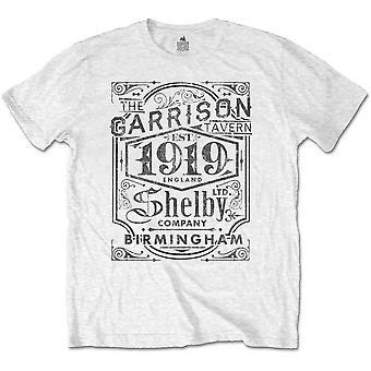 Peaky Blinders - Garrison Pub Men's Small T-Shirt - White
