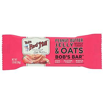 Bobs Red Mill Bar Oat Pnt Btr Jelly, Case of 12 X 1.76 Oz