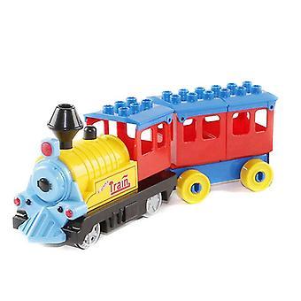 Akkukäyttöinen Duplo Blocks -juna, tiilien kasvatusleleen rakentaminen