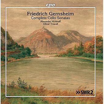 Gernsheim / Triendl - Gernsheim / Triendl: Kompletta Cellosonater [CD] USA import