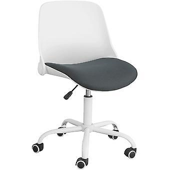 SoBuy FST87-W,Desk Chair with Foldable Backrest