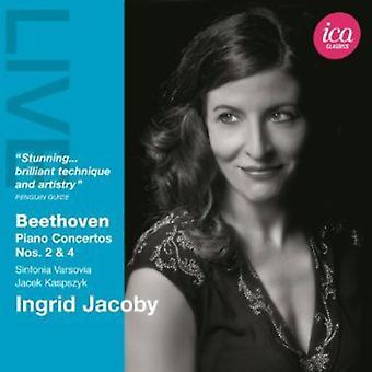 L.V. Beethoven - Beethoven: Piano Concertos Nos. 2 & 4 [CD] USA import