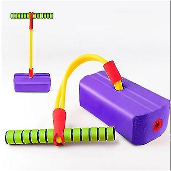 Children's fitness toys,Outdoor jumping balance sense indoor training device(Purple)
