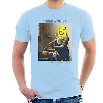 Smiley World Wear A Smile Men's T-Shirt