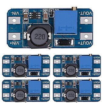 Mt3608 dc-dc steg upp omvandlare booster strömförsörjning modul öka step-up board max utgång 28v 2a för arduino