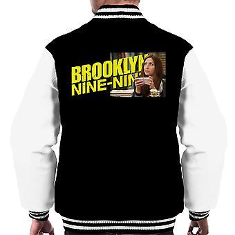 Brooklyn Ni-Ni Rosa Tenker Menn Varsity Jakke