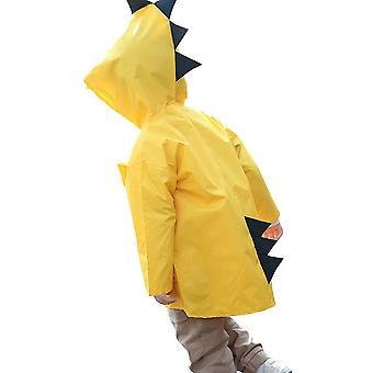 YANGFAN Дети Плаще Мультяшный динозавр Водонепроницаемый костюм с капюшоном