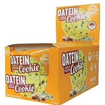 Oatein Cookie, Salted Caramel (EAN 5055839536416) - 12 cookies