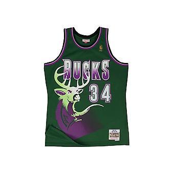Mitchell & Ness NBA Baschet Tank Top Milwaukee Bucks Ray Allen 1996 Swingman Jersey Verde