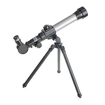 Бинокль телескопы для детей начинающих 60мм hd рефрактор телескоп для астрономии стартер прицел со штативом