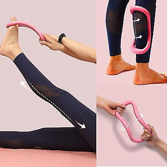 Moderno yoga e stretching esercizio anello (fucsia)