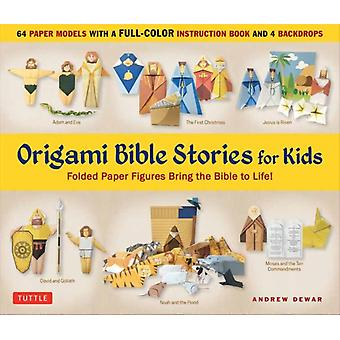 Origami Bible Stories for Kids Kit by Andrew Dewar