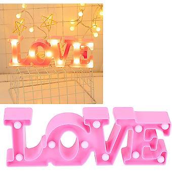 Nachtlampe, Nachtlicht, innovative Ambientebeleuchtung zum Jahrestag des Heiratsantrags (pink)