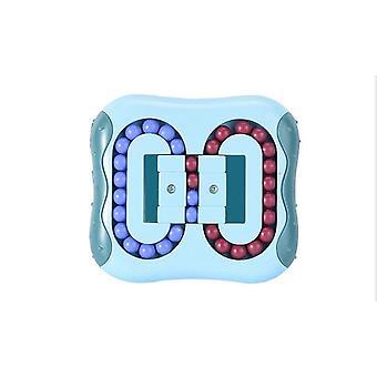 Aliviar o estresse Brinquedos de Ponta de Dedo do Cubo Mágico, pequena Descompressão Criativa de Brinquedo de Feijão Mágico Rotativo