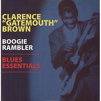 Clarence Brown - importation USA Boogie Blues-Rambler Essentials [Vinyl]