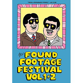 Found Footage Festival: Combo 1 & 2 [DVD] USA import