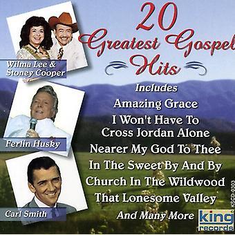20 große Gospel Hits - 20 großen Gospel Hits [CD] USA importieren