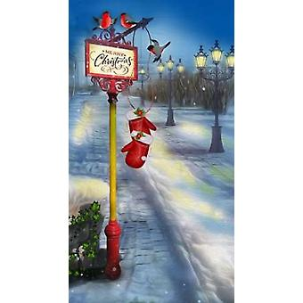 Merry Christmas Poster Print by PS Art Studios