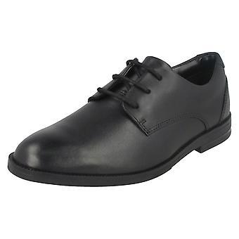 男孩 靴子 由 克拉克 学校 鞋 鲁弗斯 边缘