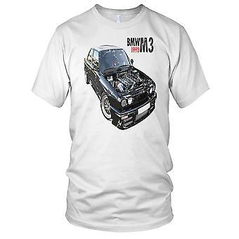 BMW M3 1990 automobile classica Mens T-Shirt
