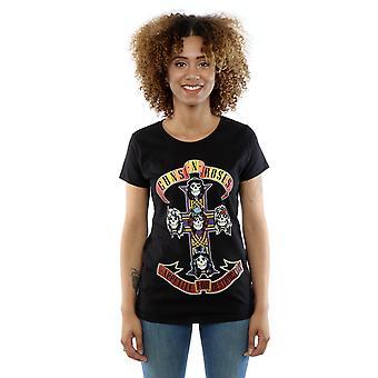 Guns N Roses naisten ruoka halu Destruction T-paita