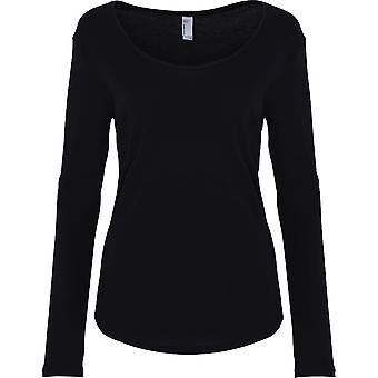 American Apparel Womens/Ladies Ultra-Wash Cotton Long Sleeve T-Shirt