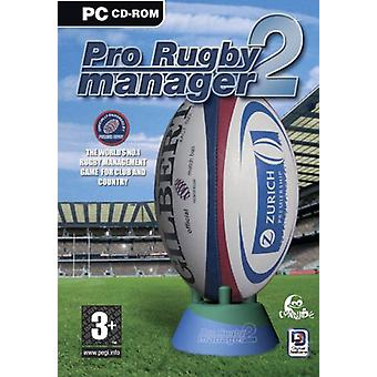 Pro Rugby Manager 2 (PC CD) - New