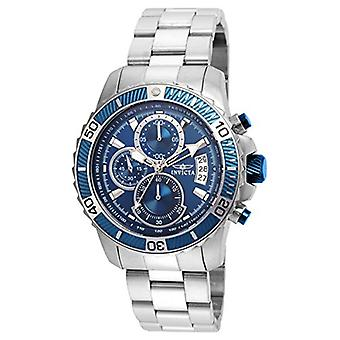 Invicta Men's Pro Diver 22413 Blue Stainless Steel Chronograph  Watch