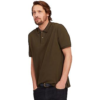 Joule Mens Z Woody classico Fit Casual Polo in piquet contrasto