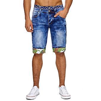 Men's Jeans Shorts Short Pants Boxer Style Denim Summer W29 - W38