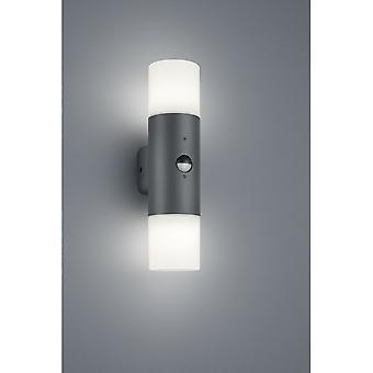 Trio d'éclairage Hoosic moderne Anthracite lampe murale d'Aluminium moulé sous pression