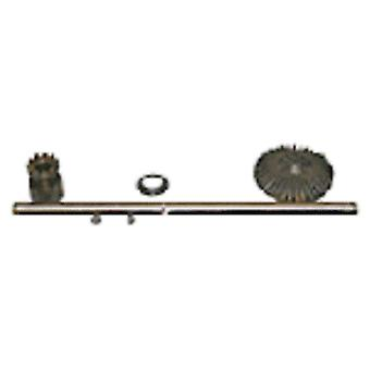 Kirby Vacuum Rear Axle Assembly with Gear G3-Ultimate G OEM # 102095