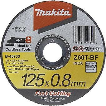 Makita B-45733 Disco de corte (recto) 125 mm 22.23 mm 1 ud(s)