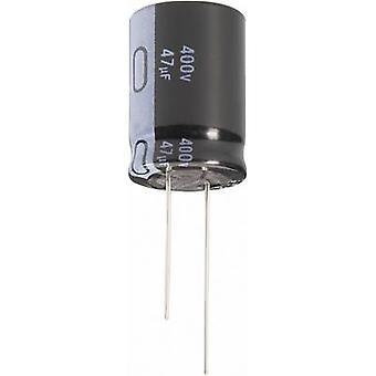 Condensador electrolítico de Jianghai ECR2ELK100MFF501020 Radial plomo 5 mm 10 μF 250 V 20% (Ø x H) 10 x 20 mm 1 PC