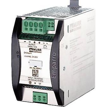 Murr Elektronik Emparro 20-100-240/24 Rail gemonteerde PSU (DIN) 24 V DC 20 A 480 W 1 x