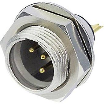 Rean AV RT5MPR XLR connector Plug, vertical mount Number of pins: 5 Silver 1 pc(s)